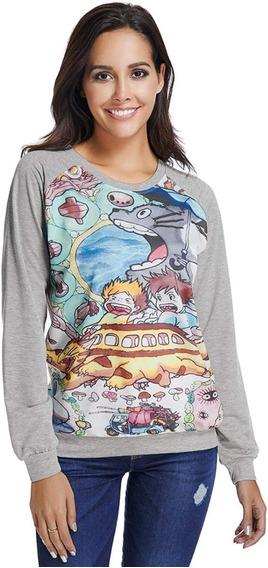 Sudadera Mi Vecino Totoro Suéter Para Mujer