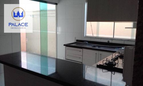 Imagem 1 de 16 de Casa Com 3 Dormitórios À Venda, 70 M² Por R$ 280.000,00 - Santa Terezinha - Piracicaba/sp - Ca0466