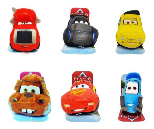 Imagen 1 de 1 de Combo X 6 Peluches Mini Cars Disney