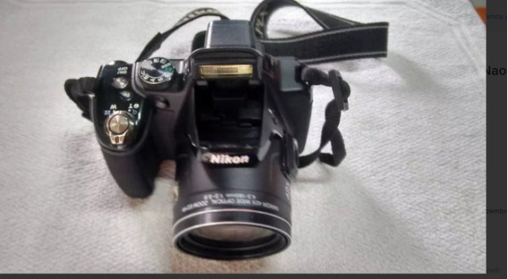 Câmera P520 Nikon Com Defeito Não Liga