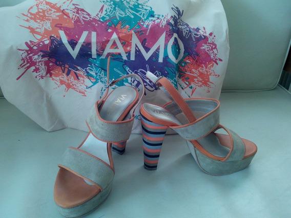 Zapatos Dama De Mujer Viamo Nº 37