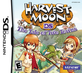 Harvest Moon 3d: Tale Of Two Towns - Nintendo 3ds
