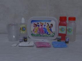 10 Kits Slime Potes Personalizados Com 20 Peças
