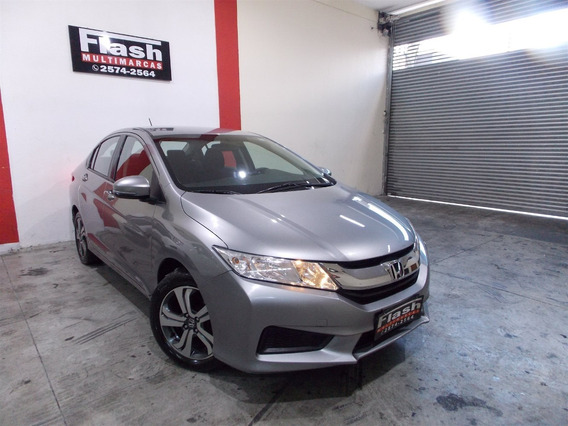 Honda City 1.5 Lx Automático + Multimidia + Revisoes Honda