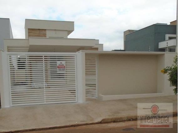 Casa Com 3 Dormitórios À Venda, 100 M² Por R$ 395.000 - Portal Ville Primavera - Boituva/sp - Ca2035