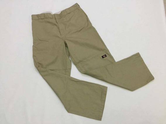 Pantalon Dickis Hombre Talla 38/34 Color Caqui