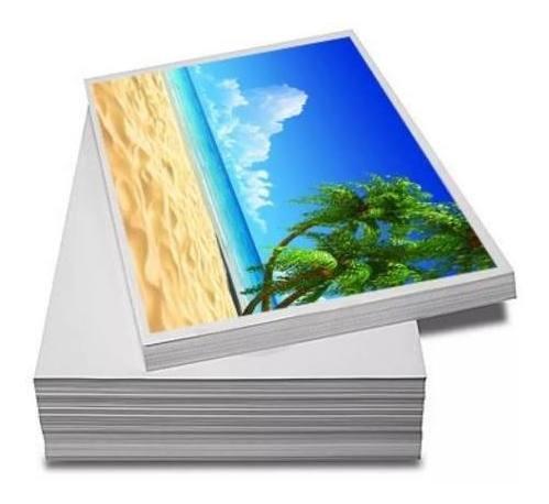 Papel Fotográfico Adesivo A4 135g À Prova D´água 1000 Folhas