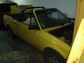 Escort Xr3 Conversível Amarelo 1988 Álcool Motor 1.6