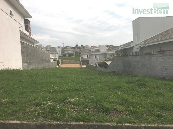 Terreno Residencial À Venda, Condomínio Moinho Do Vento, Valinhos. - Te0217