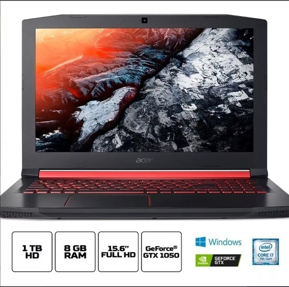 Notebook Gamer Acer Aspire Nitro An515-51-77fh Intel Core I7