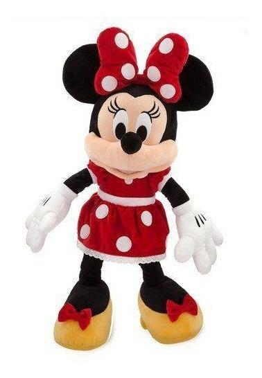 Minnie Pelucia Vermelha 28cm Pelúcia Minnie