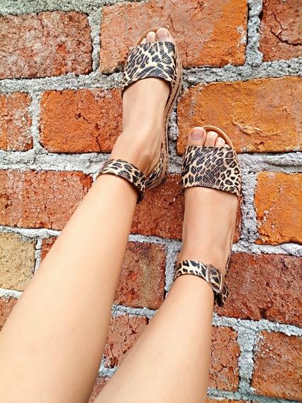Zapato Para Dama, Alpargatas Animal Print