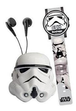 Space Set Rádio Stormtropper + Relógio Star Wars Candide