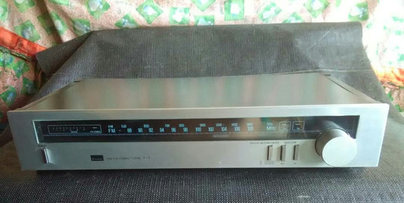 Tuner Sintonizador D Radio Vintage Sansui T-5 Fm/am Plateado