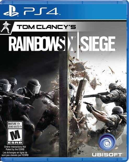 Rainbow Six/ Gta 5/ Battlegrounds/ Fifa 19 (ps4)