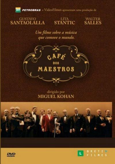 Dvd - Café Dos Maestros - ( Café De Los Maestros )