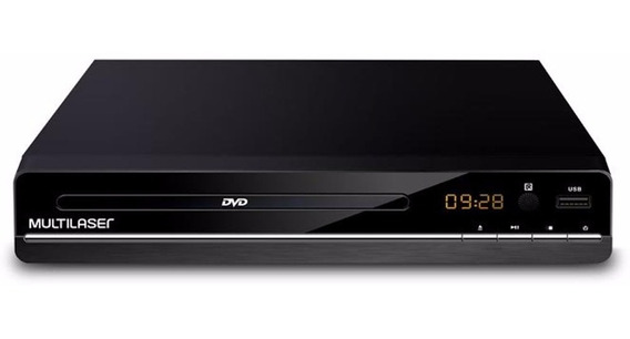 Dvd Player Aparelho 3 Em 1 Multimídia Usb Cd Ripping Sp252