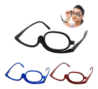 Lente Gafas Gafa Monocular Gira 180 Grados Para Maquillaje