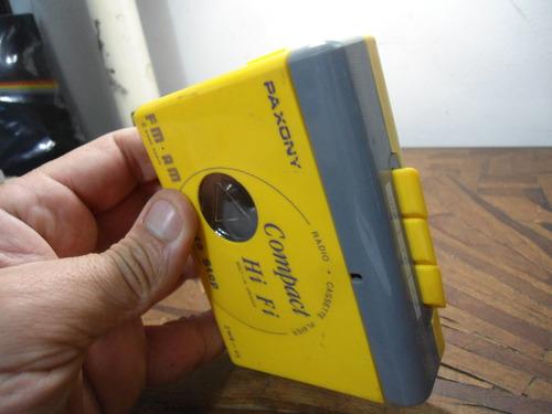 Walkman Paxony Zwr-95 - No Estado