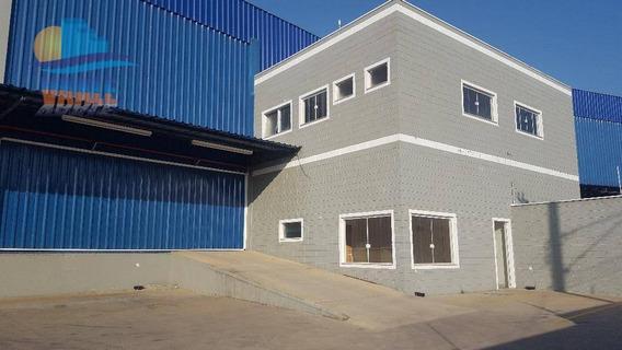 Galpão Industrial Para Locação, Jardim Boa Vista, Hortolândia. - Ga0146
