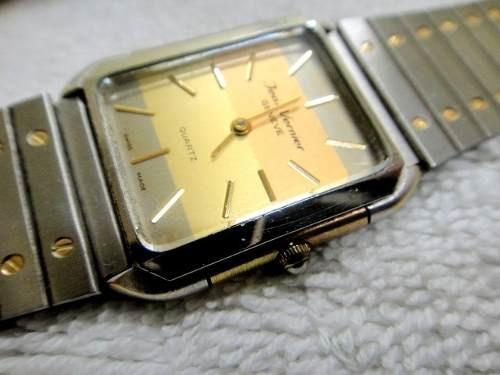 Relógio Jean Vernier.