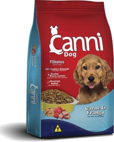 Ração Canni Dog Filhotes Sabor Carne & Frango 25kg