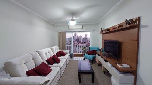 Imagem 1 de 19 de Apartamento Com 2 Dormitórios, 1 Suíte, Dependência Completa, À Venda, 111 M² Por R$ 497.000 - Embaré - Santos/sp - Ap2918