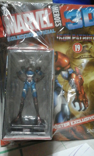 Figuras Marvel 3d Iron Patriot Salvat N 19