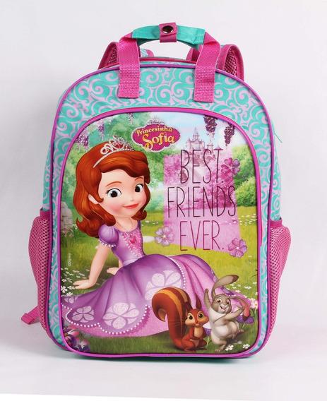 Mochila Infantil Escolar Dermiwil Princesa Sofia 52164