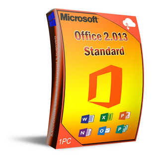 Lic. Office 2013 Standard, 1 Pc, Entrega Inmediata