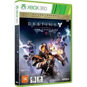 Destiny The Taken King Xbox 360 Novo Lacrado