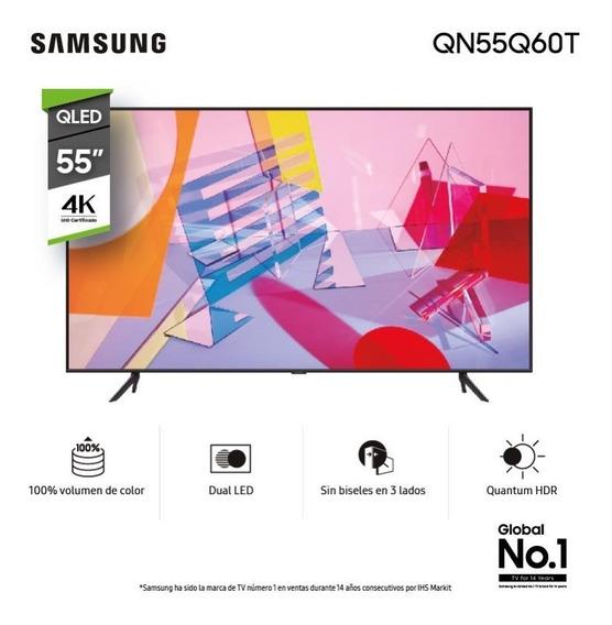 Tv Samsung Qled Smart Tv 55 Uhd 4k - Nario Hogar