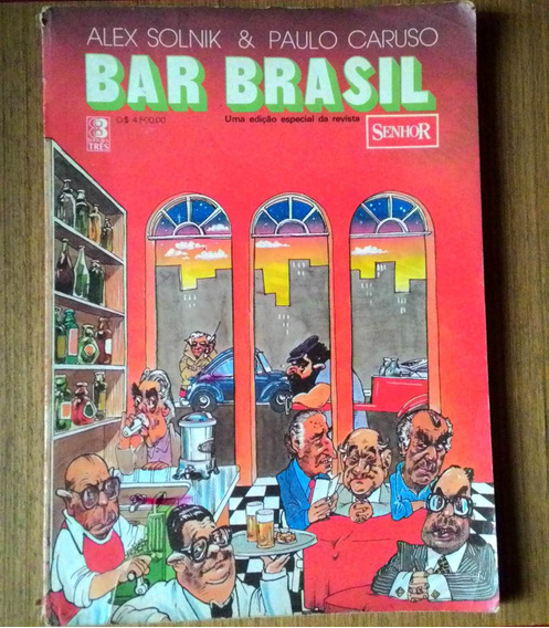 Livro Bar Brasil 1984 Politica Alex Solnik E Paulo Caruso