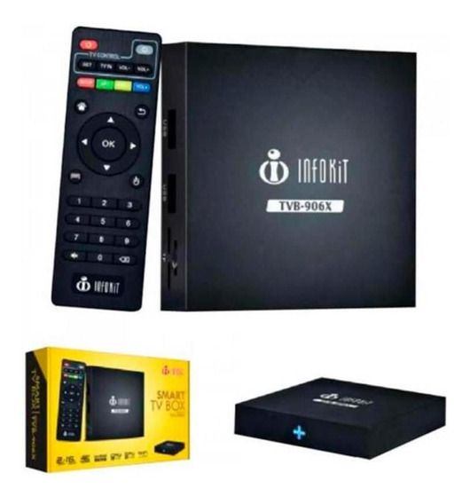 Smart Tv Box Android Quad Core 2gb Ram 4k Infokit-tvb-906x