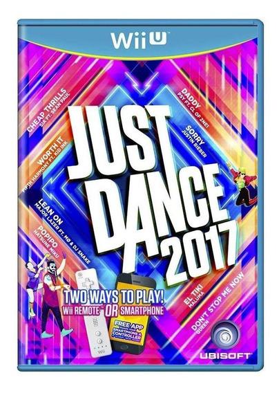Just Dance 2017 Wii U Mídia Física Pronta Entrega