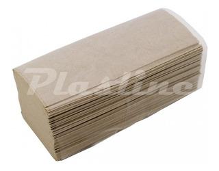 10 Cajas Toalla Baño Intercalada Papel Tissue Beige Ecologicas X 2500 Envio Gratis