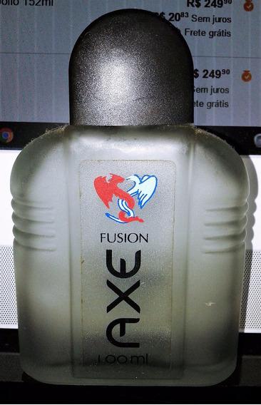 Vidro Perfume Axe Fusion Vazio Raro Colonia Vazio