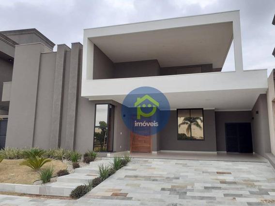 Casa Com 4 Dormitórios À Venda, 287 M² Por R$ 1.390.000,00 - Parque Residencial Damha Vi - São José Do Rio Preto/sp - Ca2343