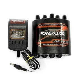 Amplificador Headphone Power Click Db05 Stereo Com Fonte