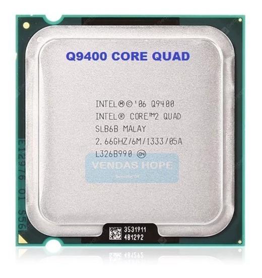 Processador Core2quad Q9400 + Pasta + 3 Mês Garantia