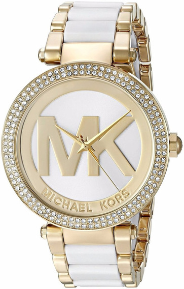 Relógio Michael Kors Mk6313 Kors Parker Chronograph Cristais