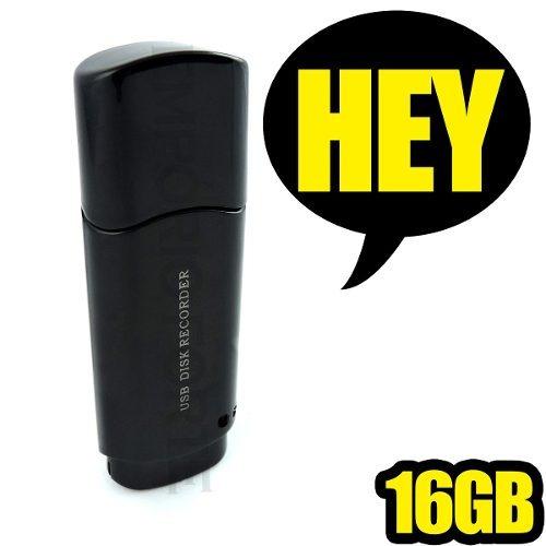 Gravador Para Aulas Gravar Sons Camera Espia Sem 16gb Ga7