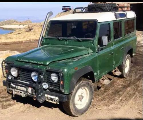 Imagen 1 de 6 de Land Rover Defender 2.5 110 5 Sw Aa 2001