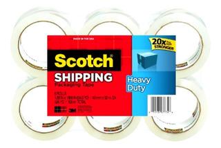 3 M Scotch 3500 - 6 Rodillos Heavy Duty Envío Embalaje -1448