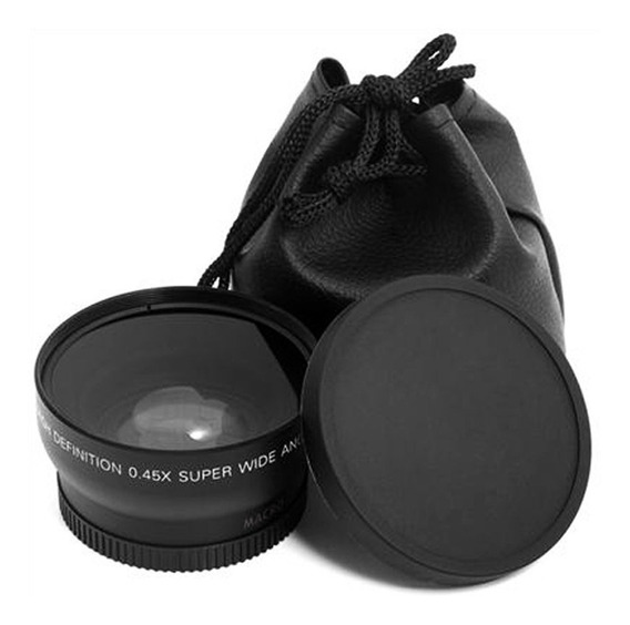 Lente Macro Grande Ângulo 52mm 0.45 X Para Nikon D3200 D3100