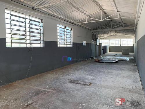 Galpão Para Alugar, 580 M² Por R$ 6.700,00/mês - Sapopemba - São Paulo/sp - Ga0891