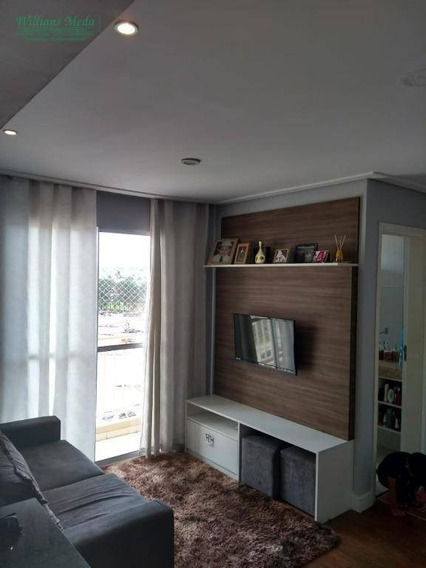 Apartamento Com 2 Dormitórios À Venda, 54 M² Por R$ 200.000 - Vila Das Nações - Ferraz De Vasconcelos/sp - Ap2388