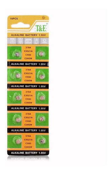 Bateria Lr521 Para Relógios E Brincos Luminosos De Led