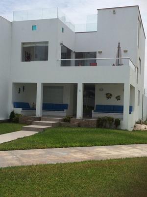 Remato! Casa De Playa En Condominio Moravia 1, Km 89.8