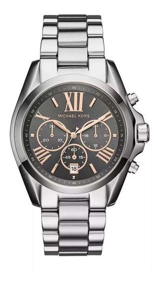Relógio Michael Kors Mk6557/1kn Bradshaw - Original